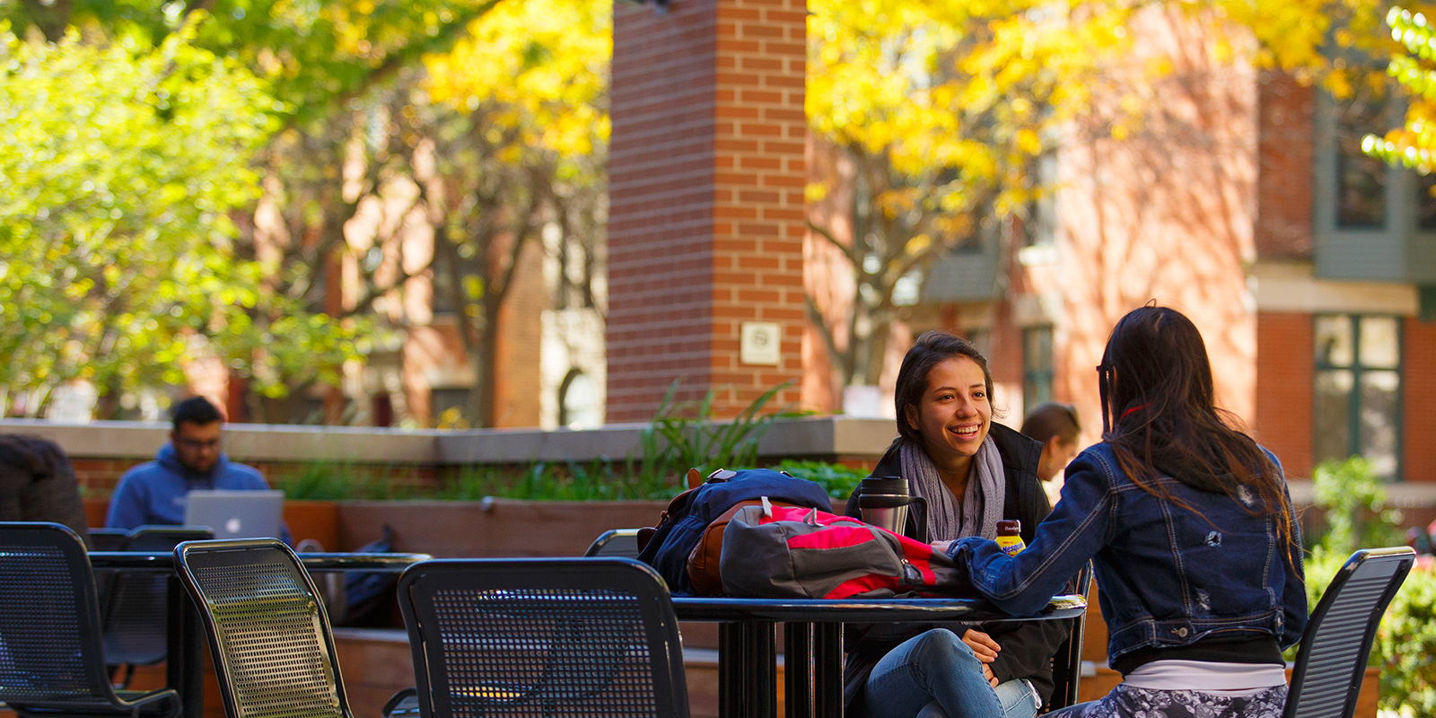 Students in the Quad