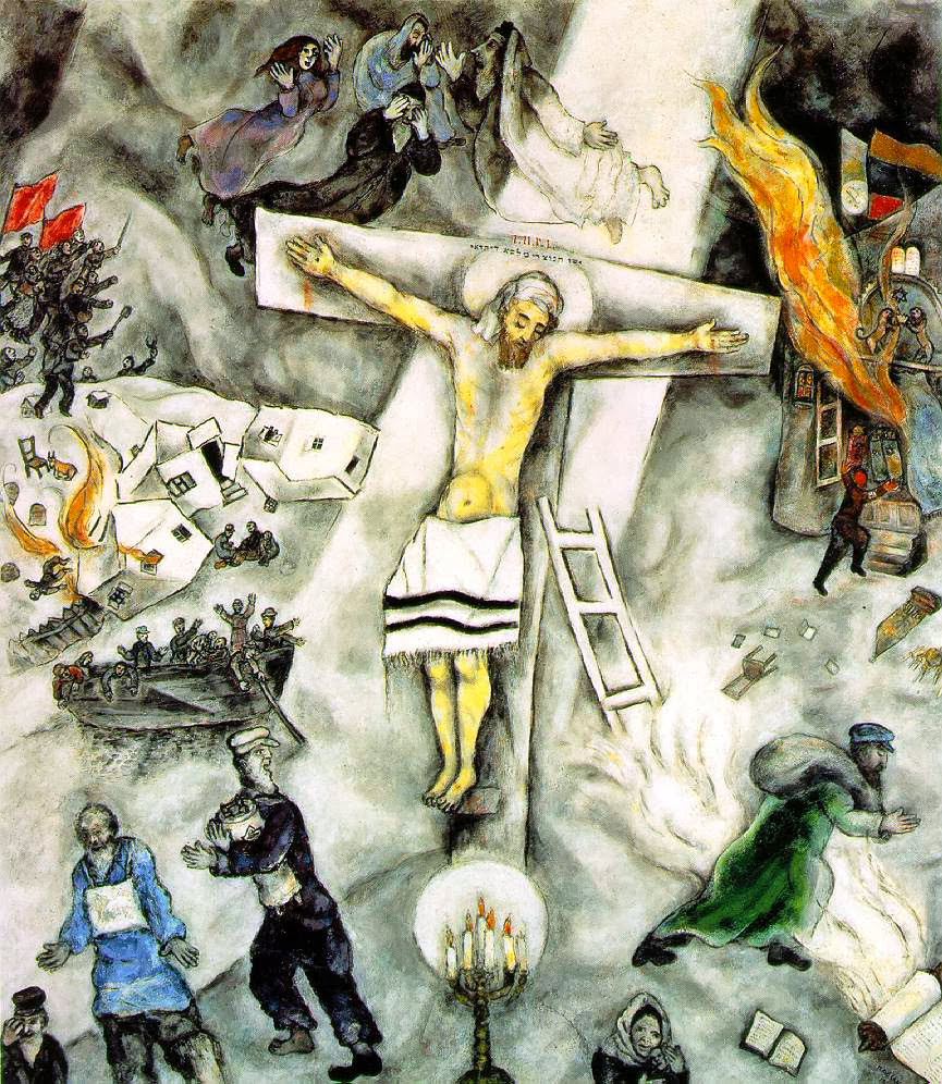 DePaul University Night at the Art Institute of Chicago ... Chagall Crucifixion