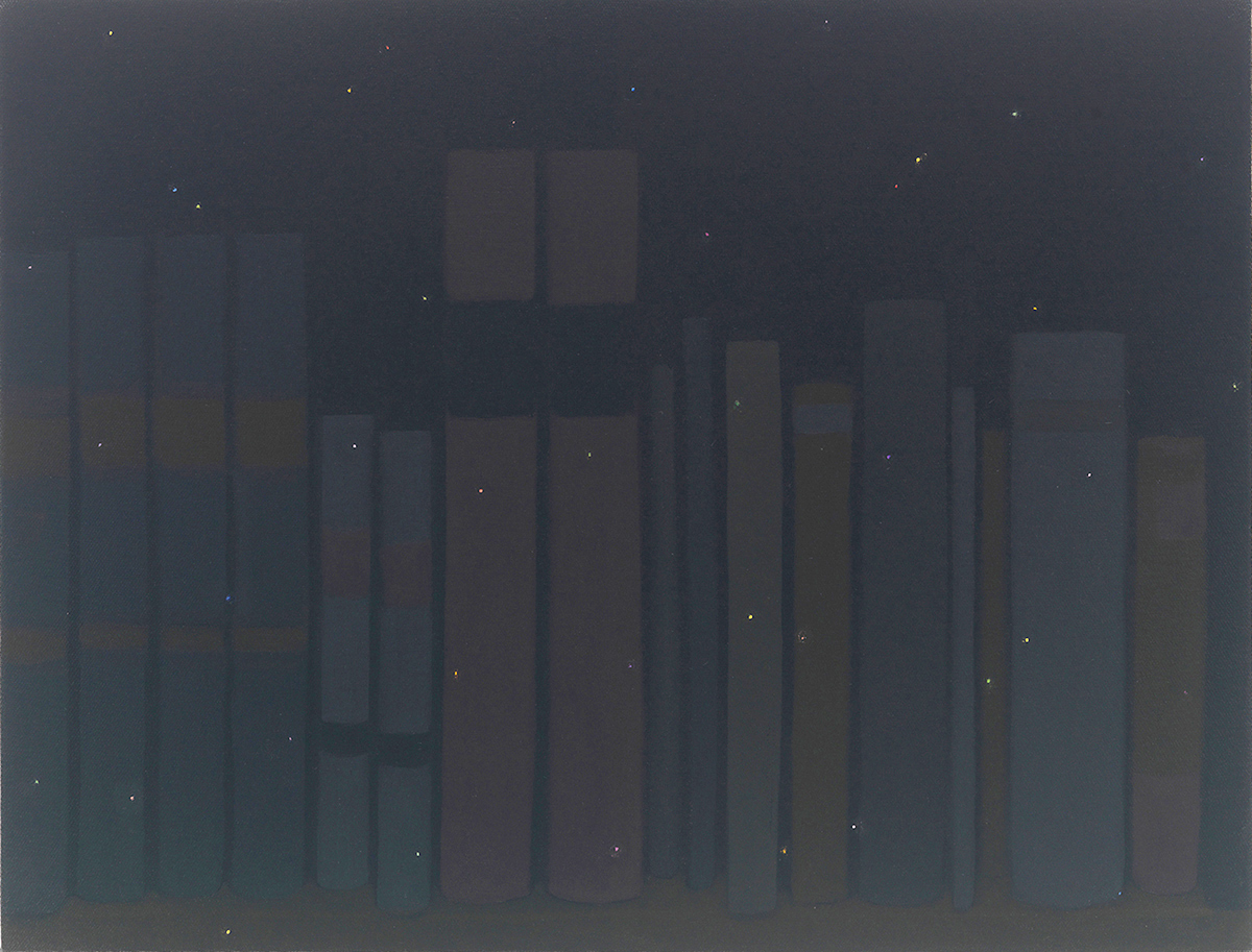 The Painter's Other Library is the Poet's Other Night Sky, #15