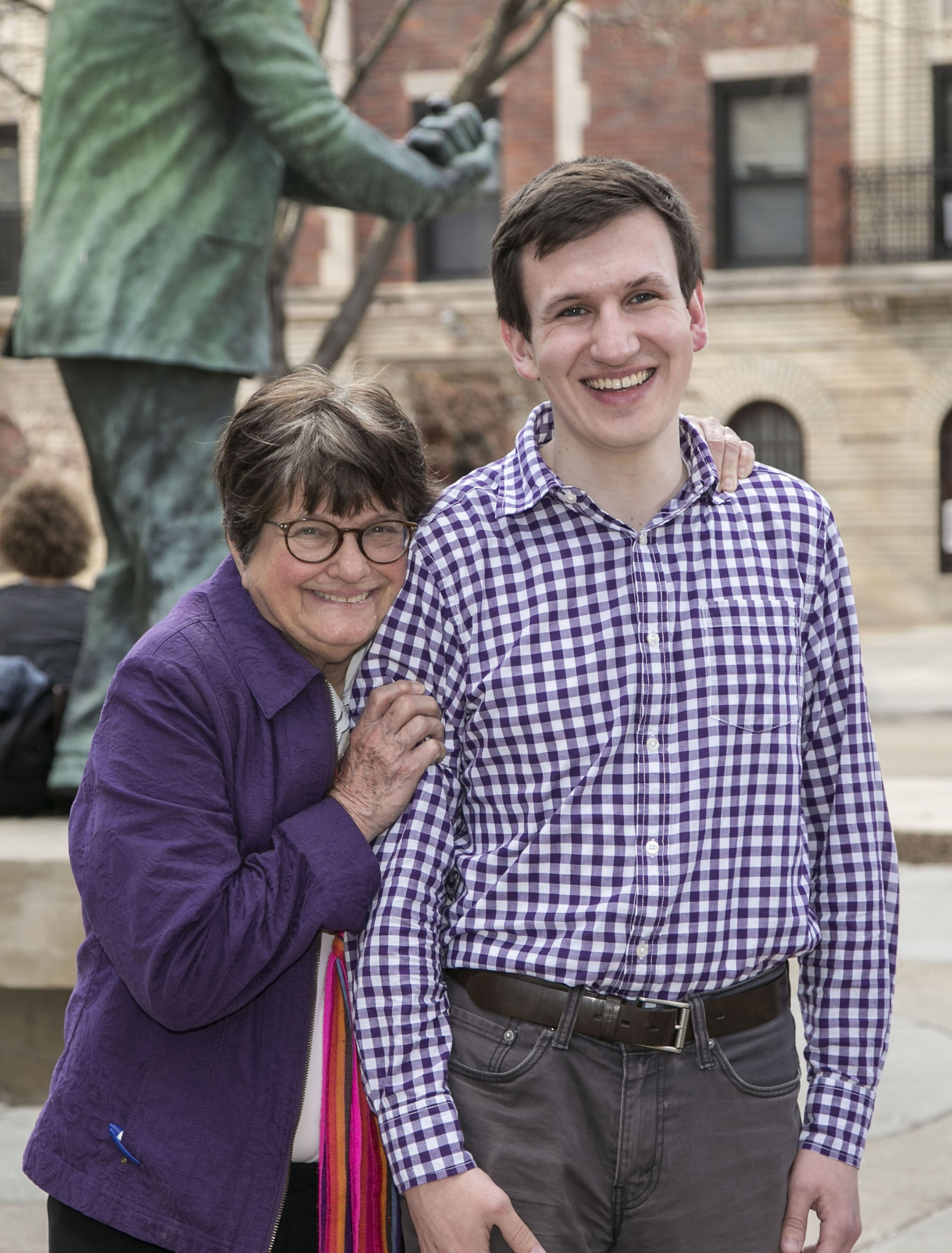 Griffin Hardy and Sr. Helen Prejean