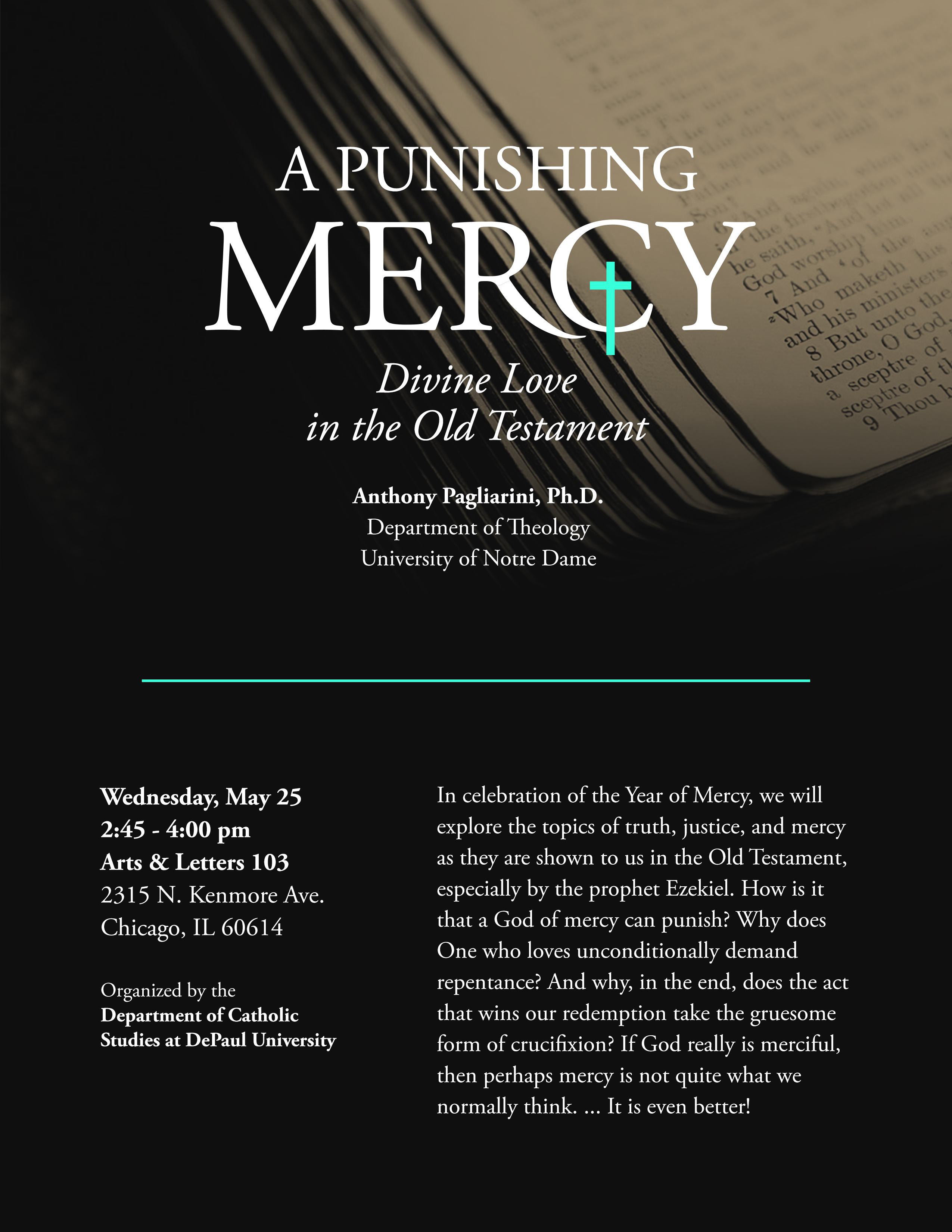 A Punishing Mercy | Flyer