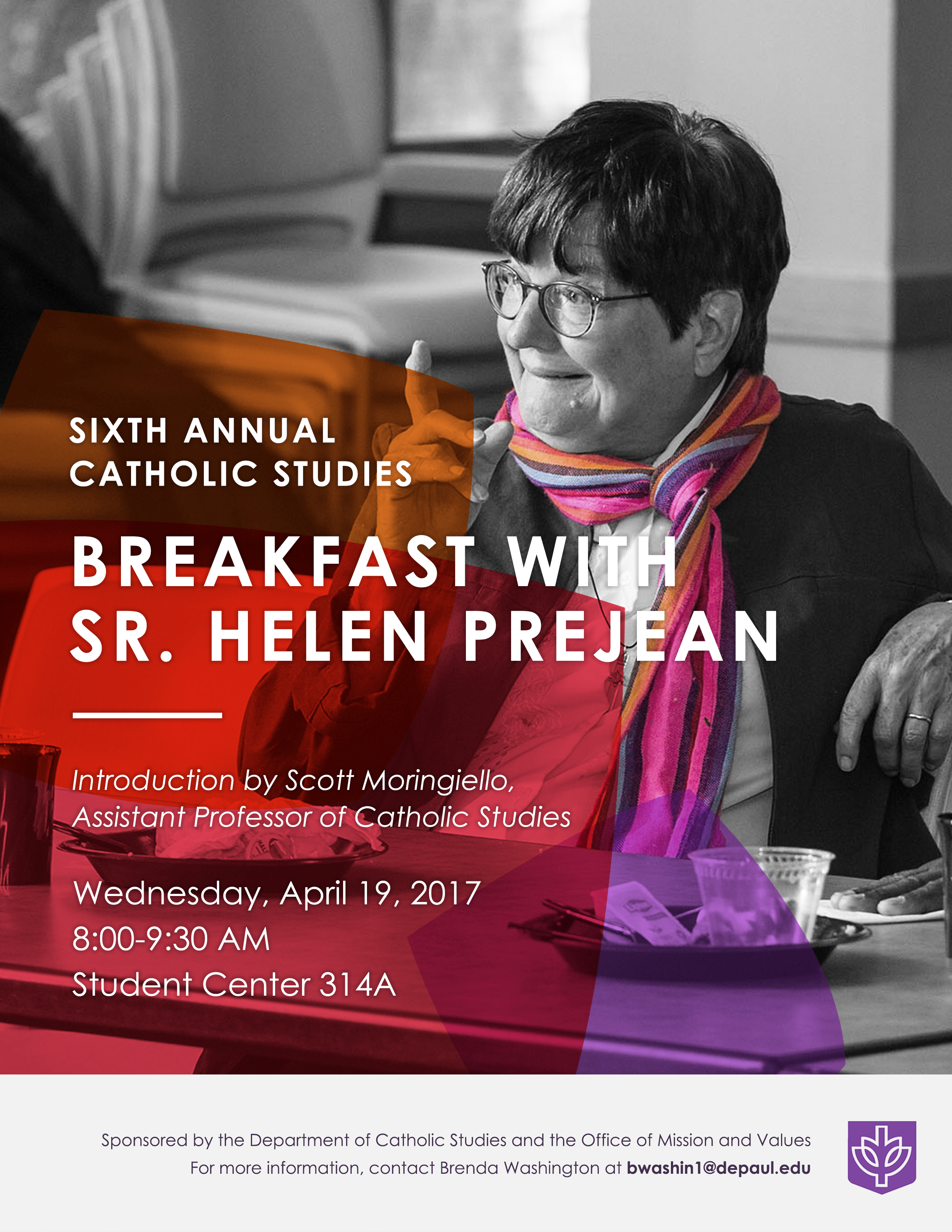 Sr. Helen Breakfast | Flyer