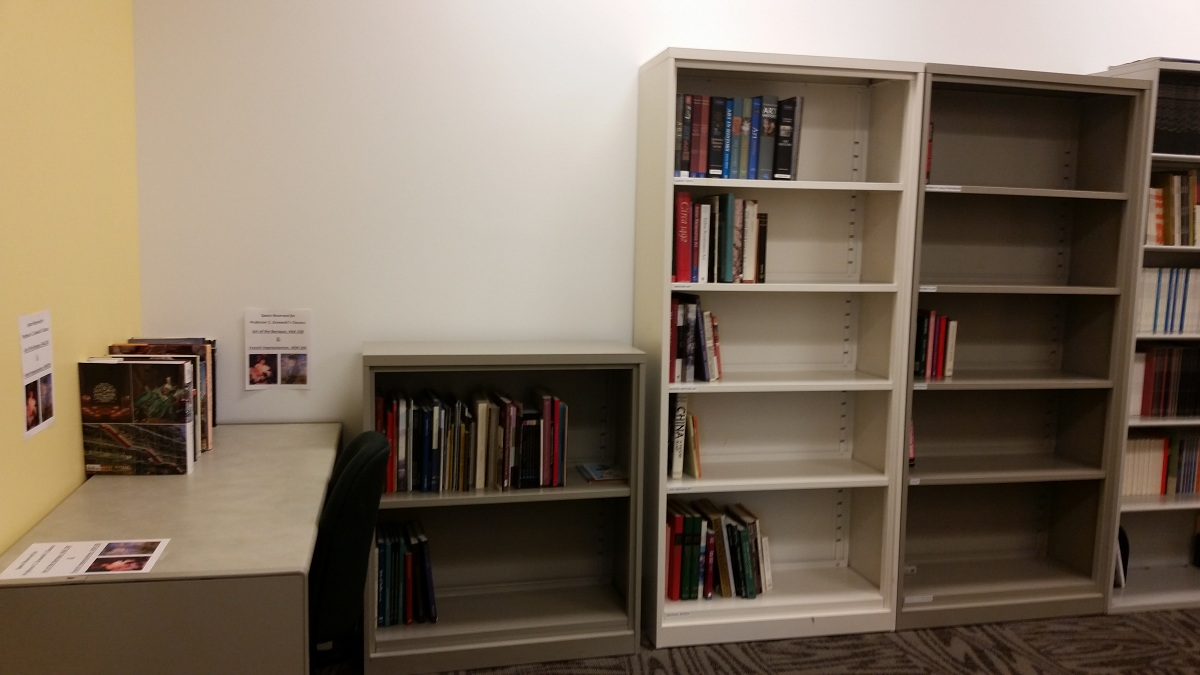 Our Departmental Library