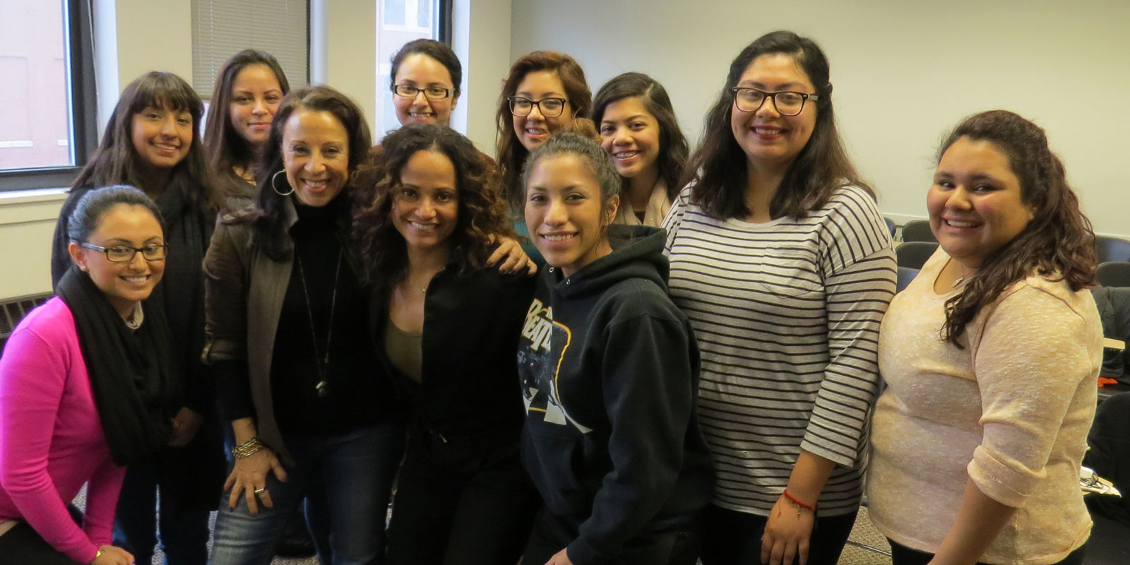 ​Actress Judy Reyes's talk on Latina leadership in Hollywood