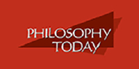 Cover of Philosophy Today Journal