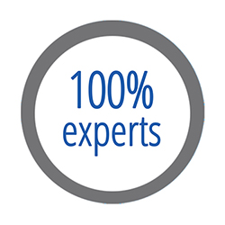 100% experts
