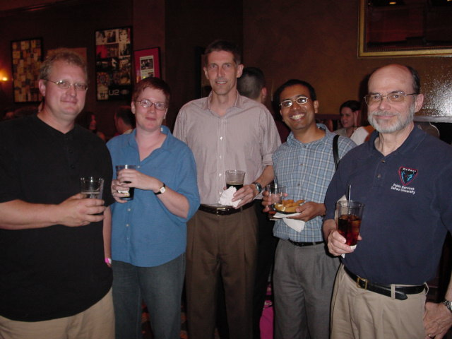 Dr. H. Woods Bowman at DePaul SPS Pub Night, 2005