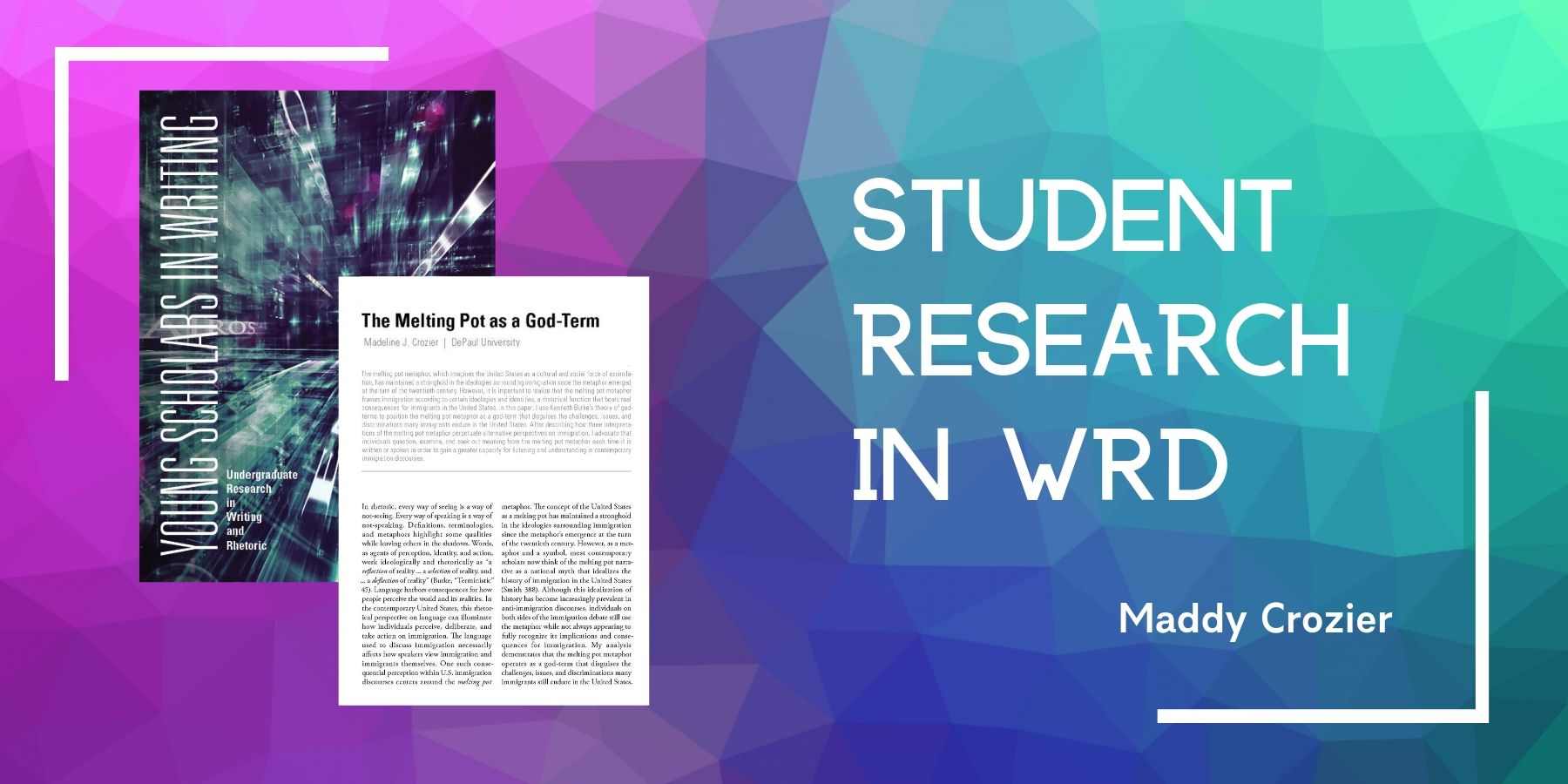 Student Research in WRD