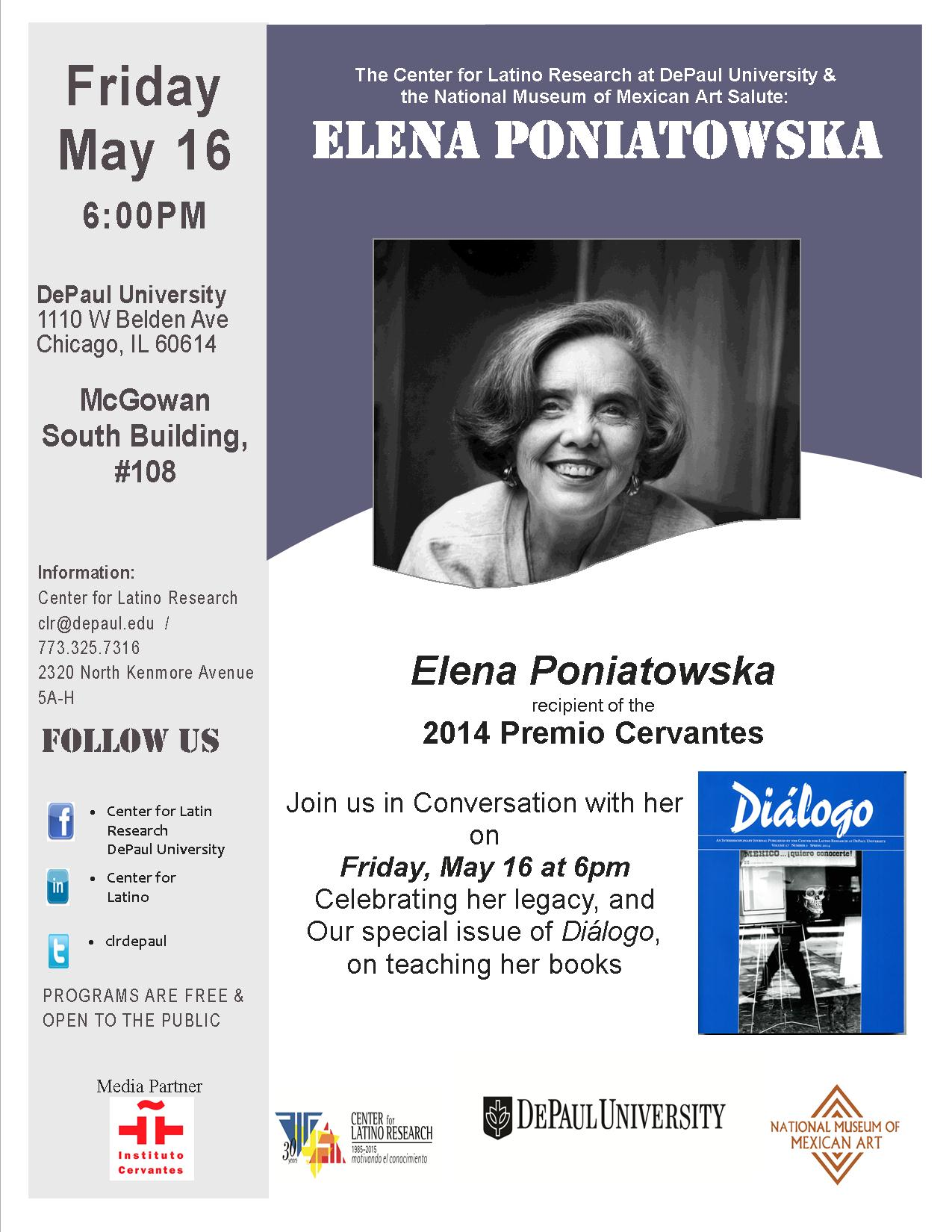 Celebrating Her Legacy  |  A Conversation with Elena Poniatowska