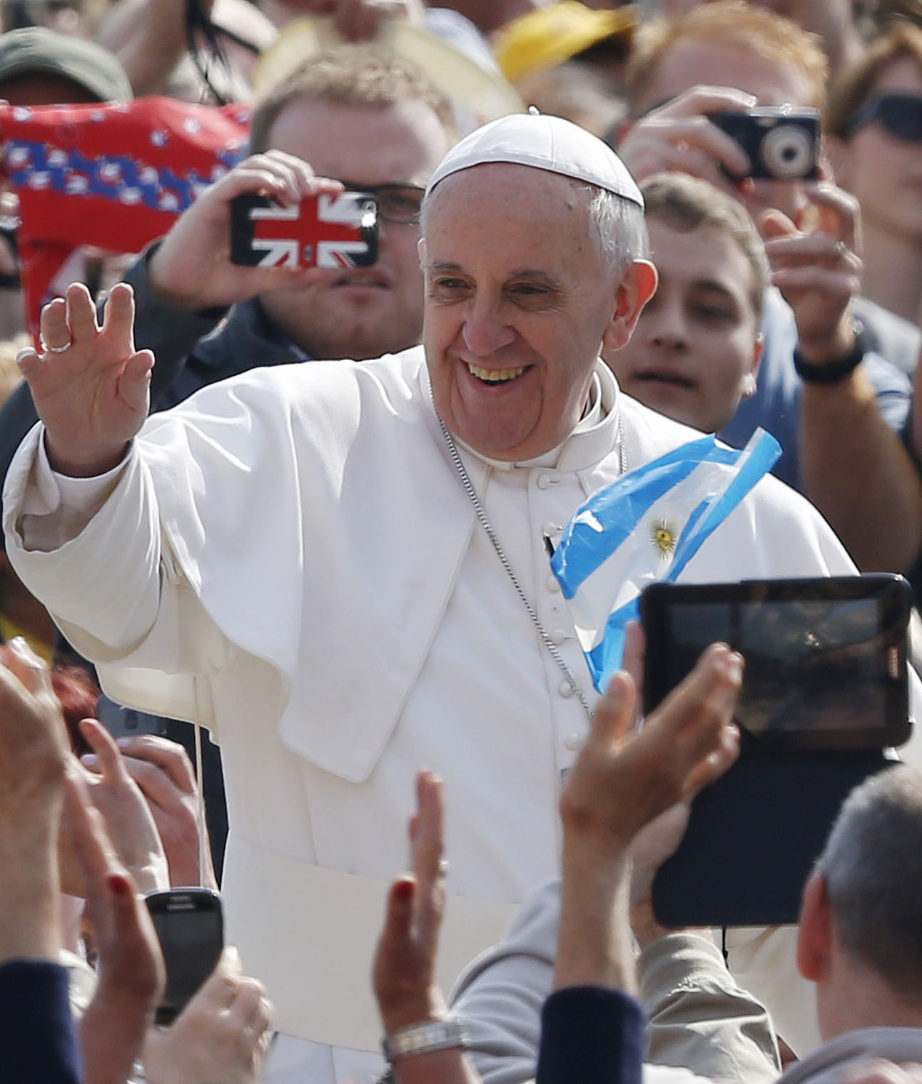 Pope Francis (CNS photo/Paul Haring)