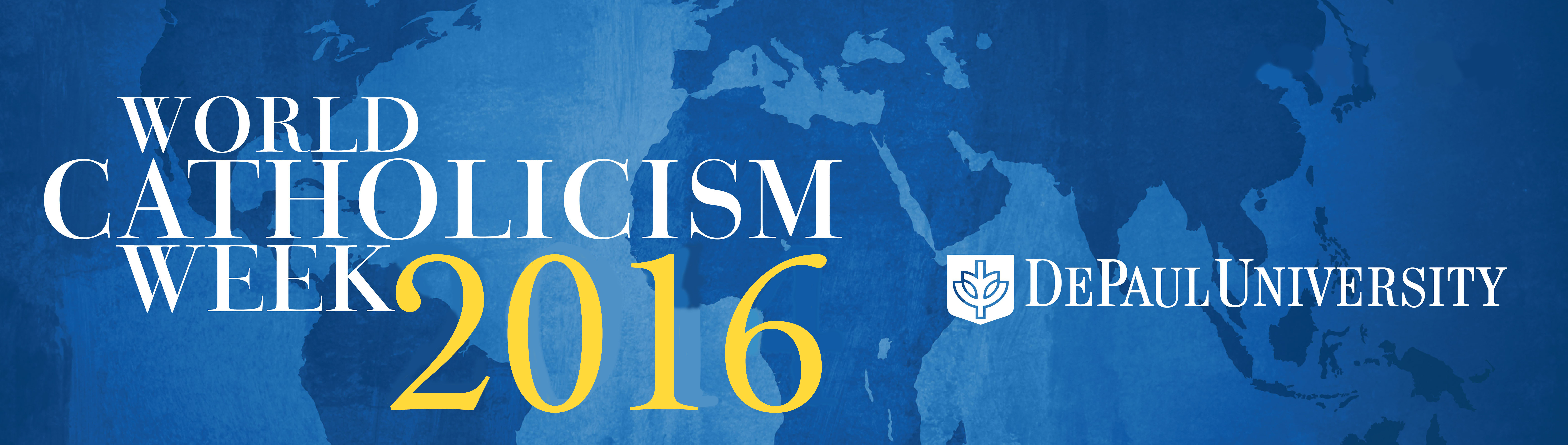 Logo for World Catholicism Week 2016 (April 14-17)