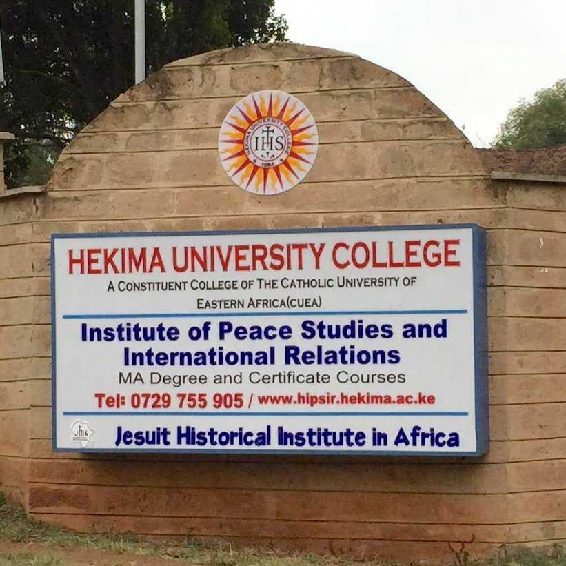 Hekima Institute for Peace Studies & International Relations, Nairobi