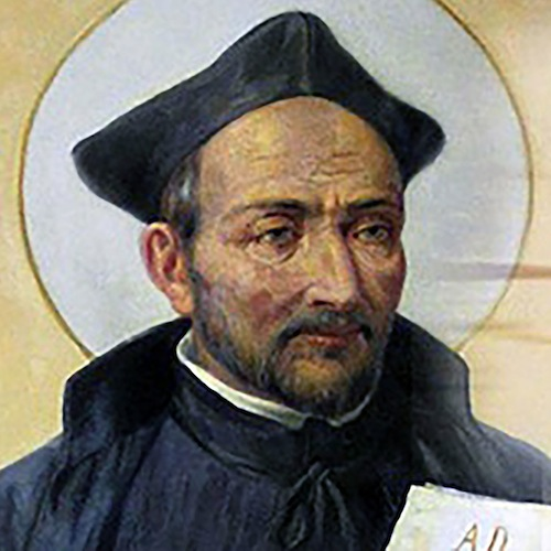 St. Ignatius of Loyola, founder of the Jesuits (Society of Jesus)