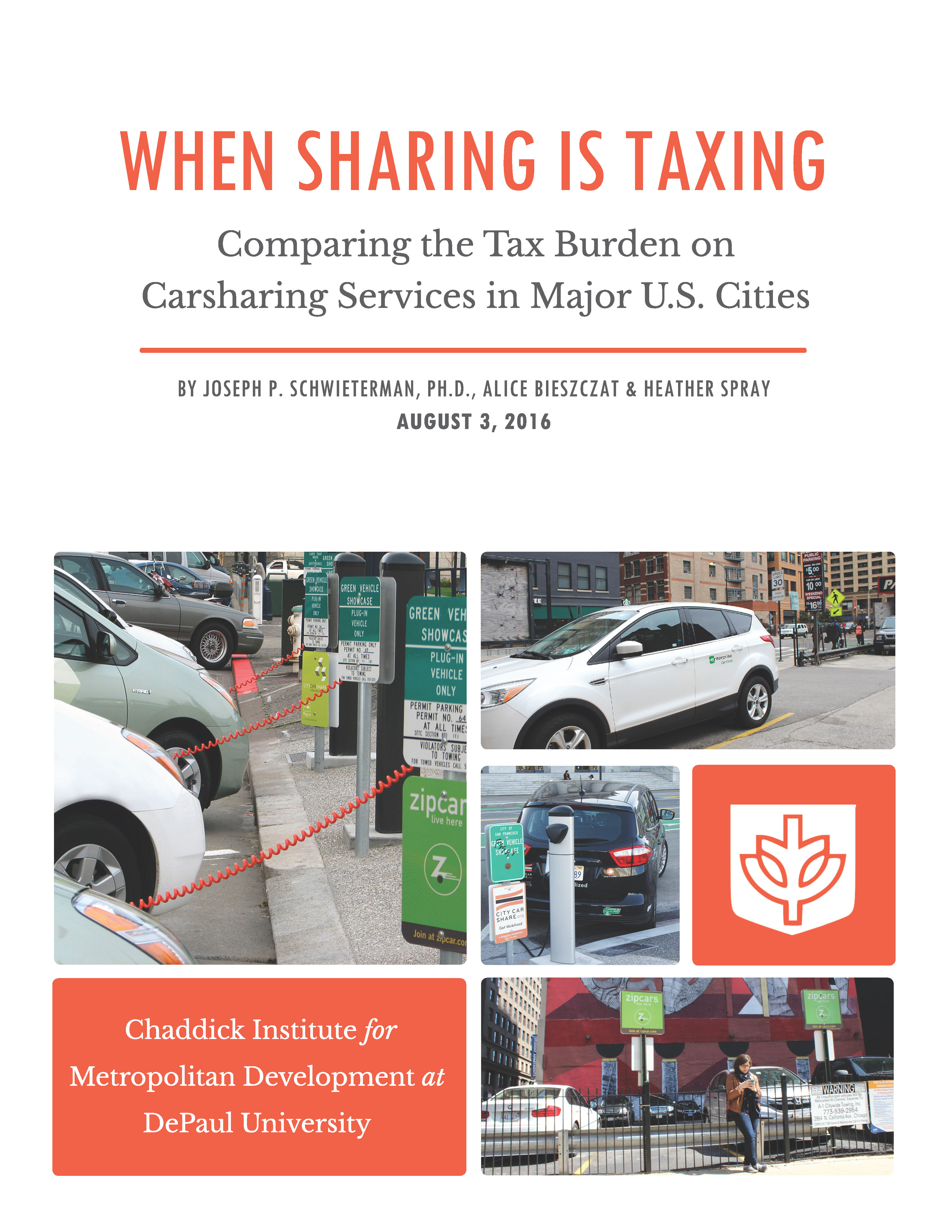 DePaul Chaddick Carsharing Study Coverpage