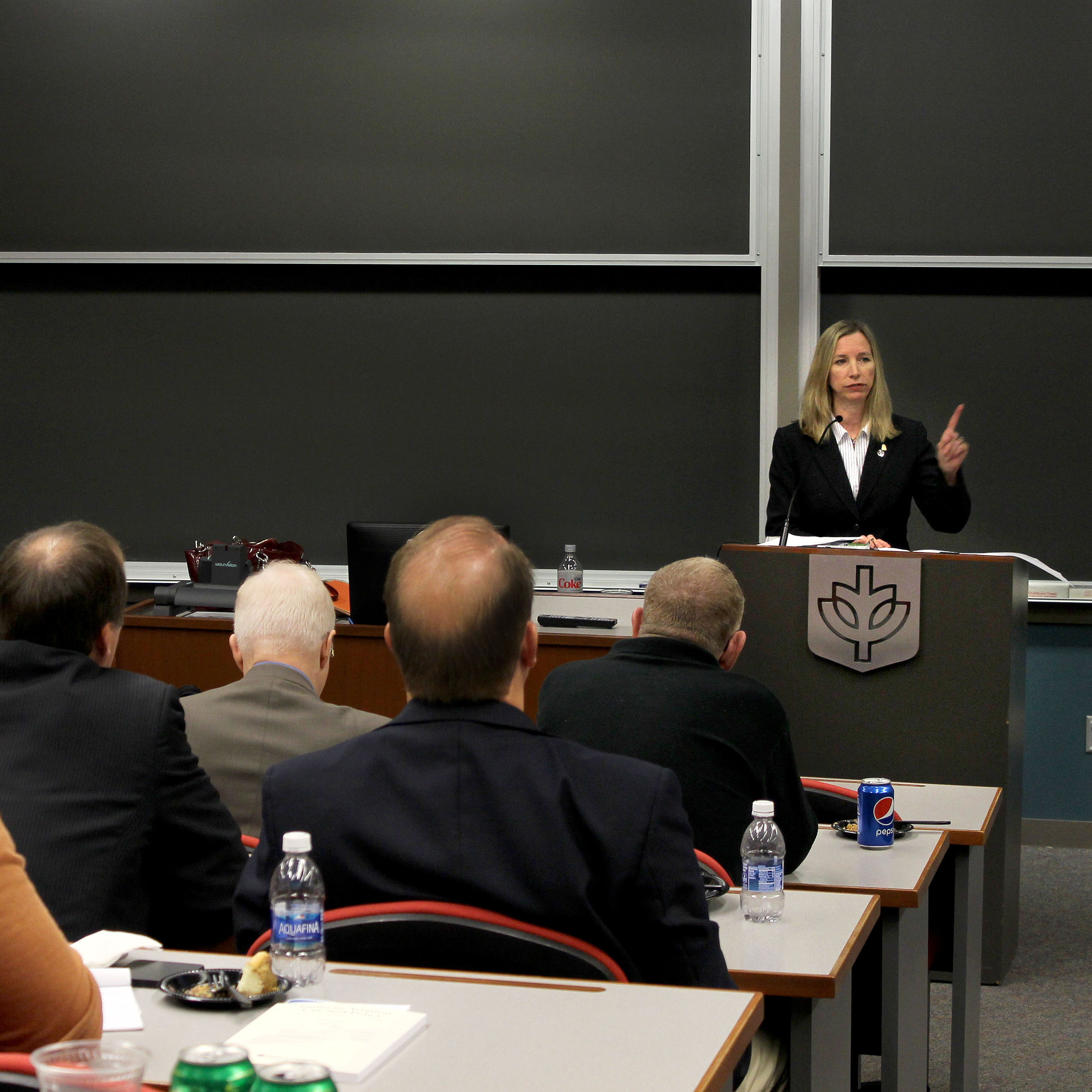 Katherine Schweit at IALI Lunch Lecture