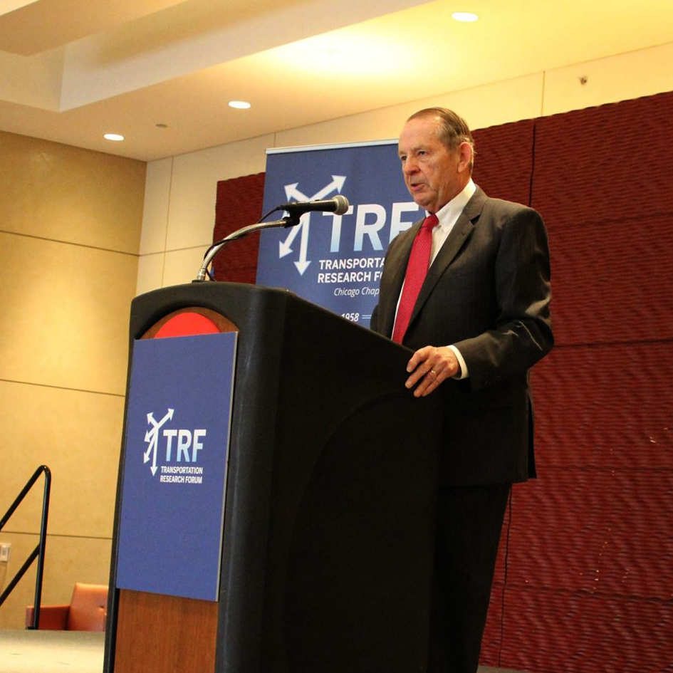 Skinner at TRF Awards Lunch
