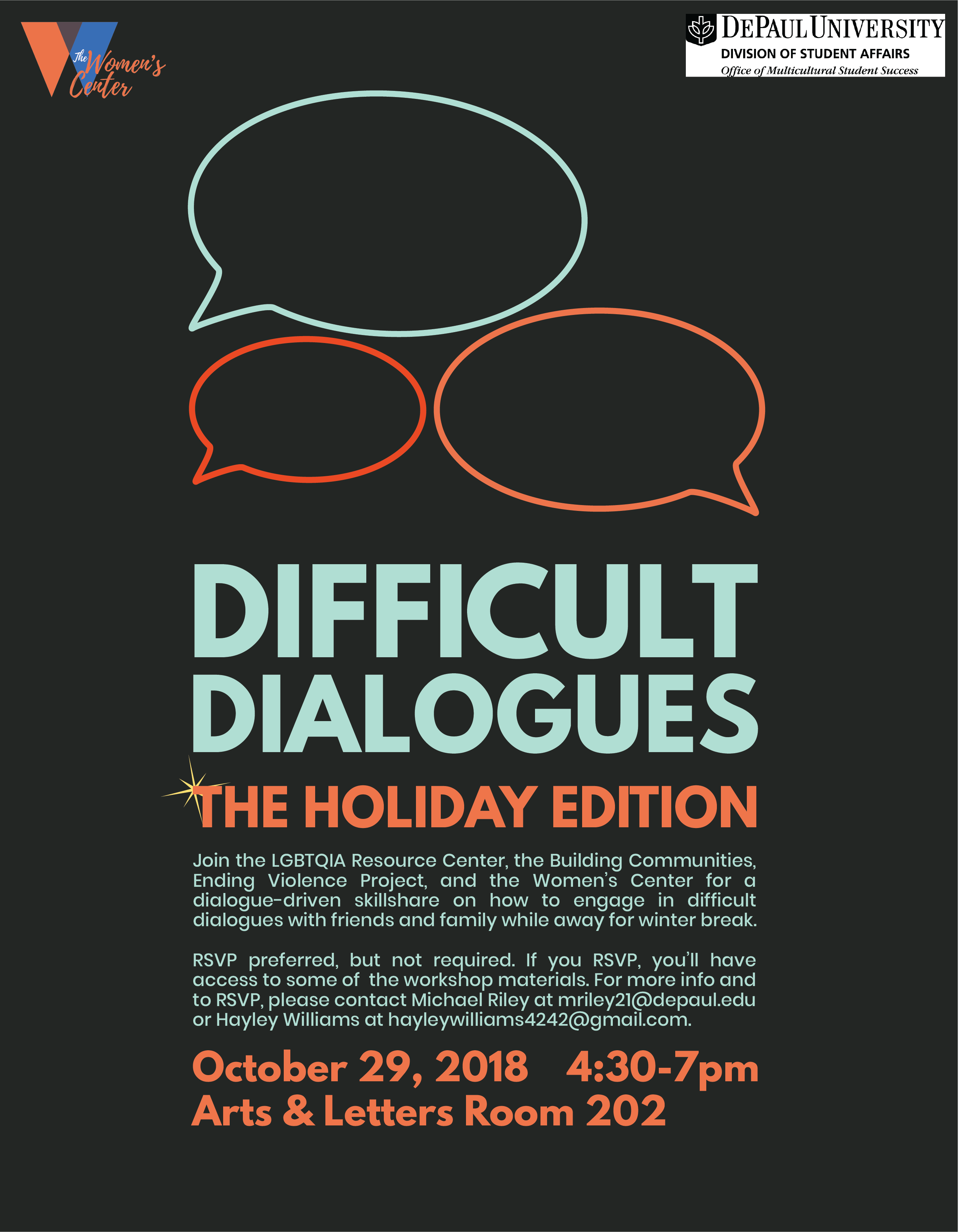 Difficult Dialogues: Holiday Edition