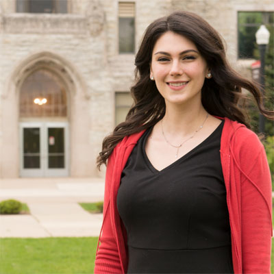 DePaul alumnus and 2016 Fulbright Winner Hannah Eboh